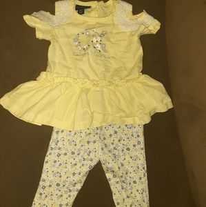 Infant girl Calvin klein outfit